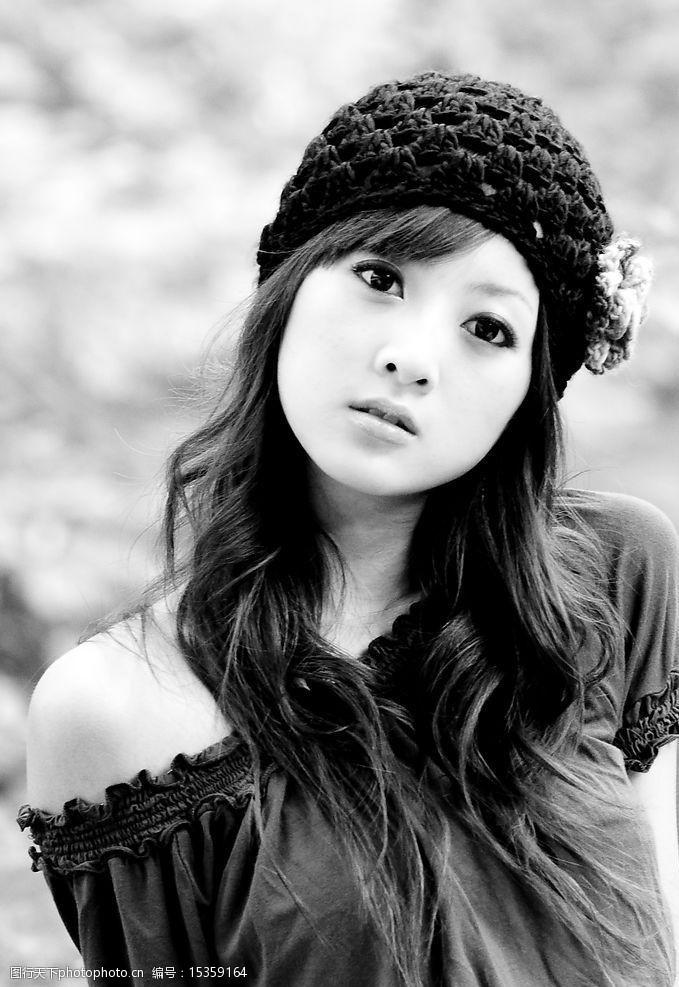青春美女台湾网络人气美女图片