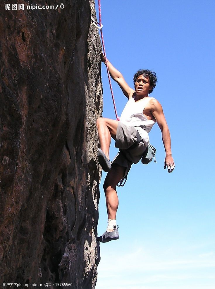 extreme攀岩图片