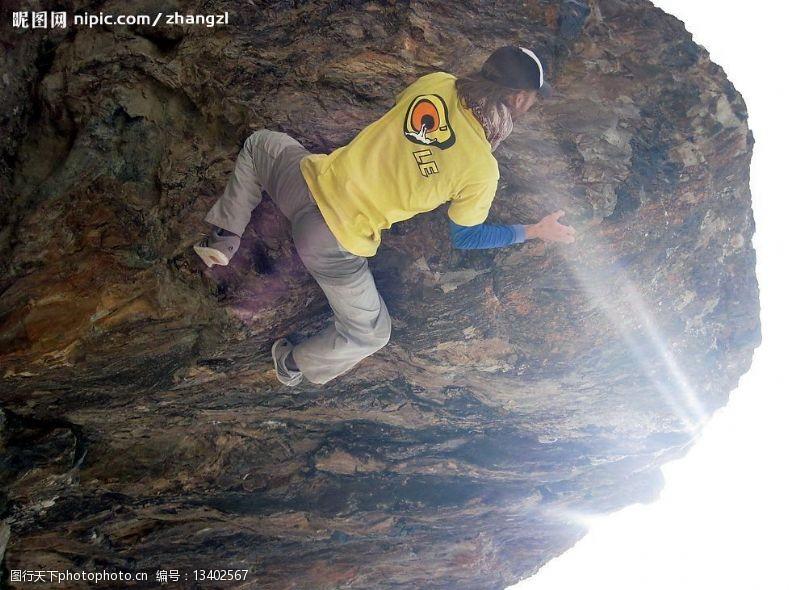 登山的男人登山运动男人极限运动图片